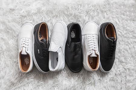 Коллекция кед Vans Classics 2014 Holiday Premium Leather
