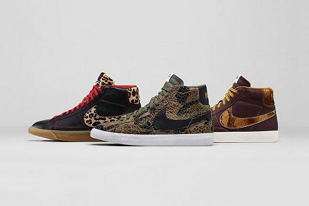 "Кроссовки Nike Blazer Mid Premium Vintage ""Safari"""