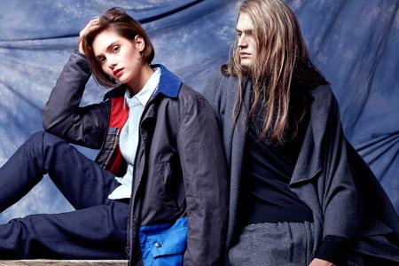 Новая модель пиджака SOTO Berlin x Barbour Осень/Зима 2014