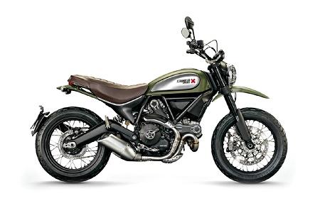 Новый мотоцикл Ducati Scrambler Urban Enduro 2015