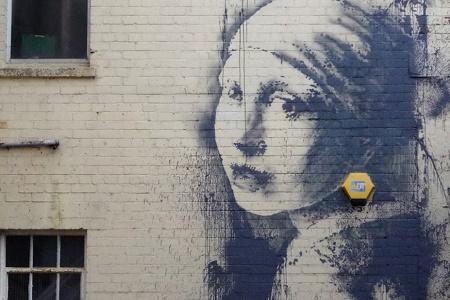 Новый стрит-арт уличного художника Бэнкси появился в Бристоле