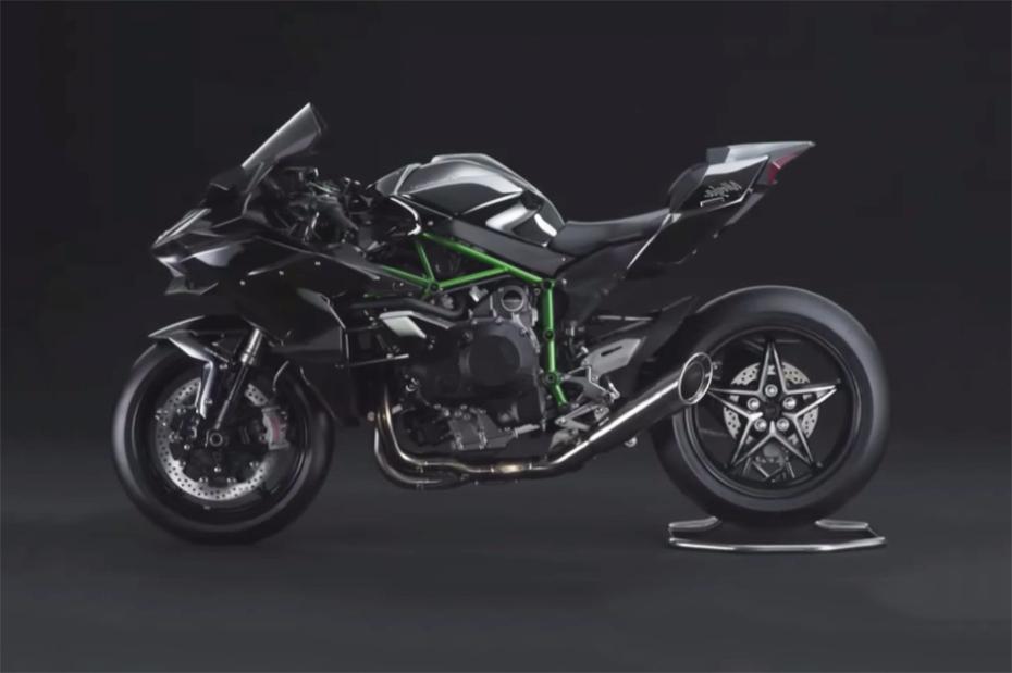 Представлен мотоцикл Kawasaki Ninja H2R 2015