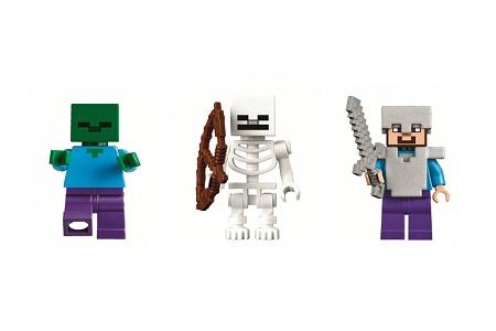 Российский магазин «слил» в Сеть новые наборы LEGO Minecraft
