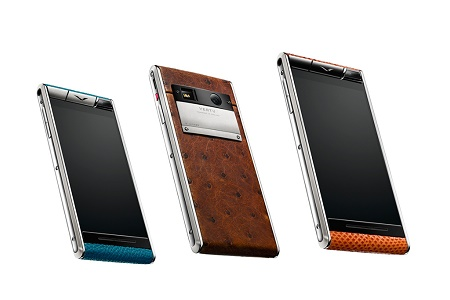 Vertu представили новый смартфон Aster