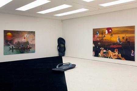 "Авторская выставка Фридриха Куната ""Earth to Fuckface"" в White Cube Gallery"