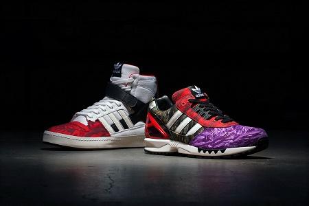 Коллекция кроссовок Black Scale x adidas Consortium Зима 2014