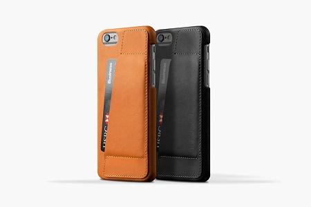 Mujjo Leather Wallet Case 80° — стильный и практичный чехол для iPhone 6/6 Plus
