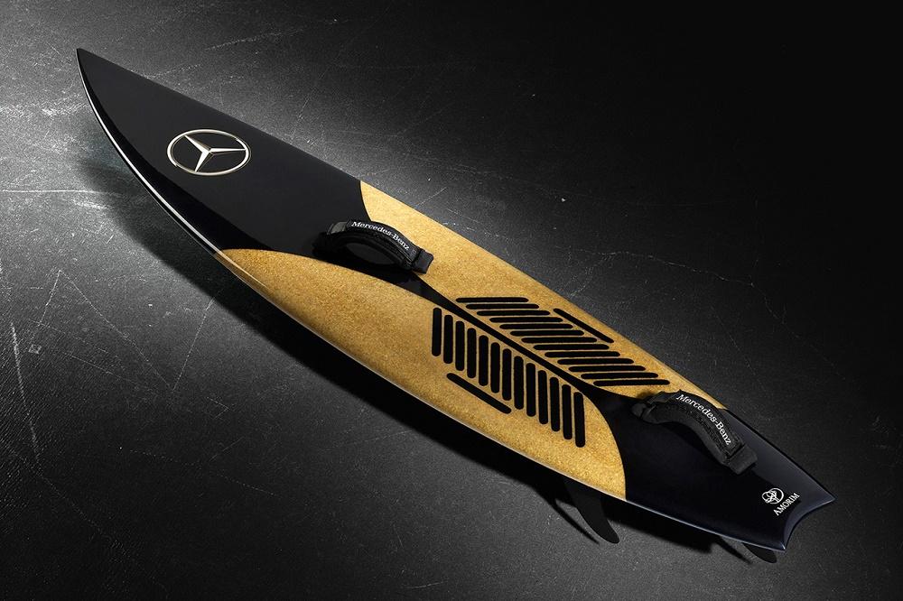 Mercedes-Benz и Гарретт Макнамара представили доску для сёрфинга