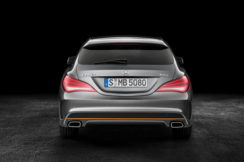 Mercedes-Benz представил универсал-купе CLA Shooting Brake