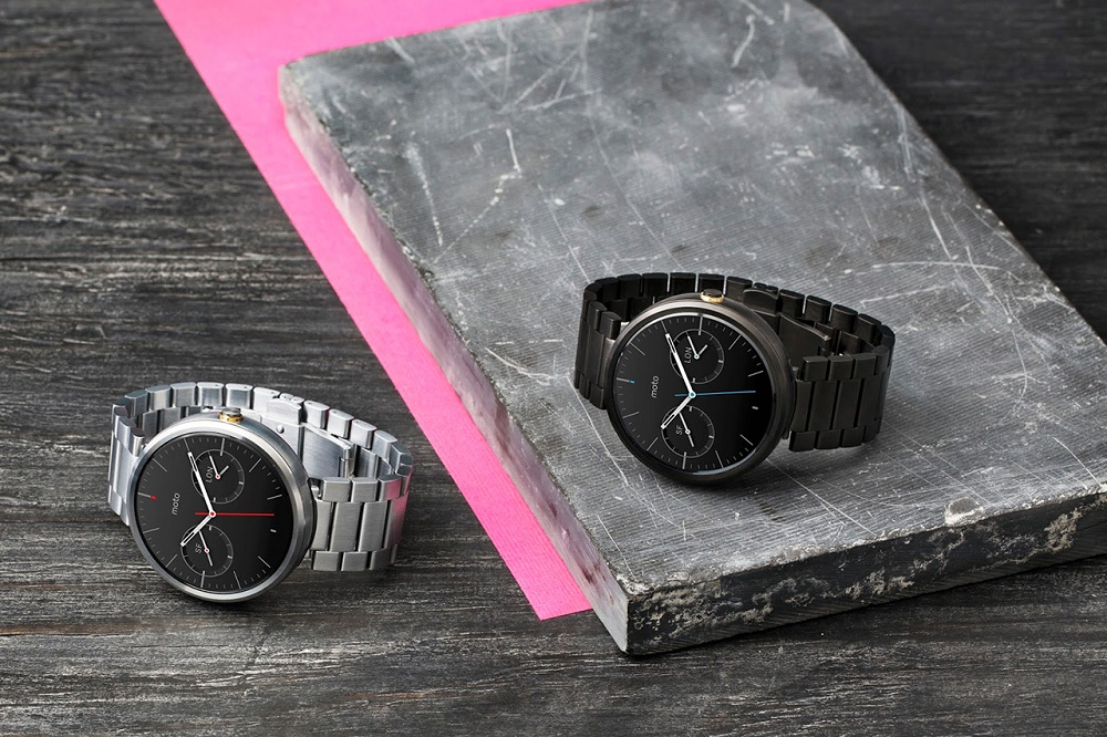 Motorola объявила о старте продаж Moto 360 с металлическими ремешками