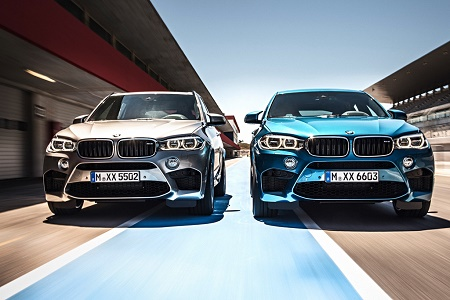 Новые BMW X5 M и BMW X6 M представили официально