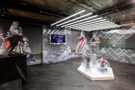 Открытие обновленного магазина Nike на Арбате