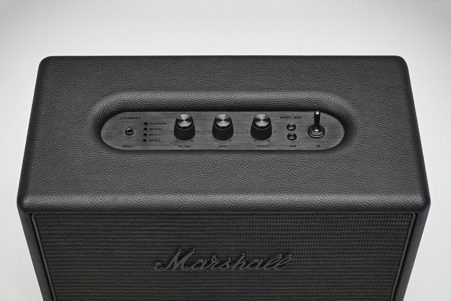Винтажная Bluetooth-акустика Marshall Stanmore Pitch Black
