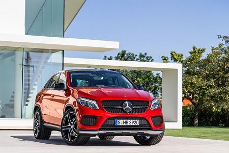Mercedes-Benz представила GLE 450 AMG