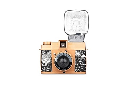 Новая камера Lomography Diana F+ представлена ограниченным тиражом
