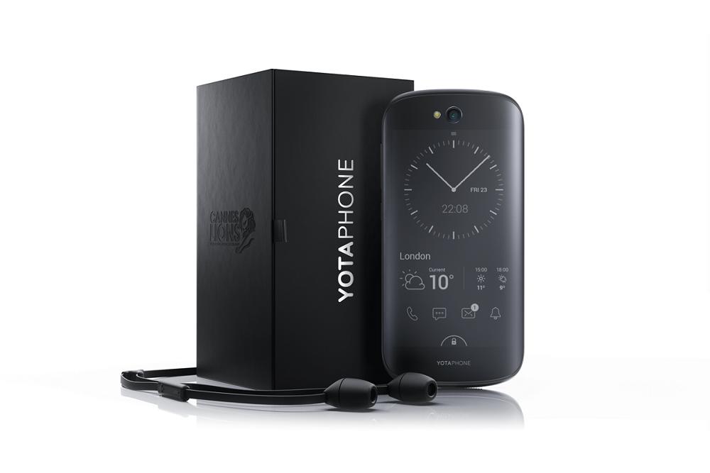 Представлен смартфон YotaPhone 2