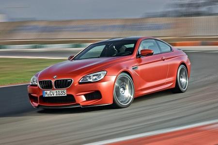 Спорткупе BMW M6 2015 модельного года
