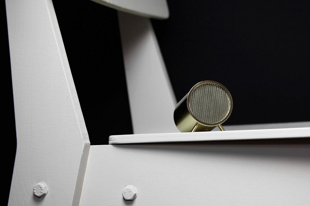 """Динамик цилиндрической формы Piet Hein Eek x LEFF Amsterdam Wireless """"Tube Audio"""""""