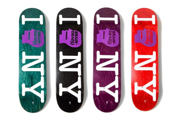 Доски для скейтборда Brain Dead x Nepenthes NYC