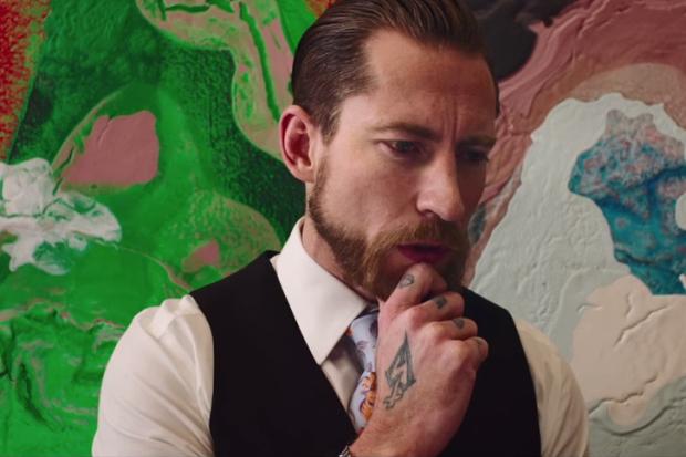 Джастин О'Ши в мини-фильме, предвосхищающем Mercedes-Benz Fashion Week Berlin