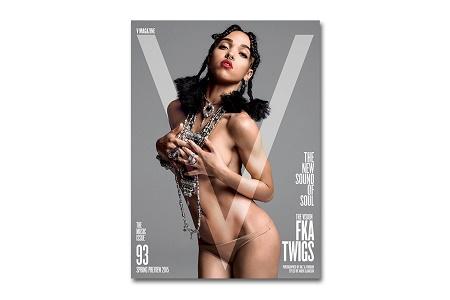 FKA Twigs рассказала о стиле своей музыки V Magazine