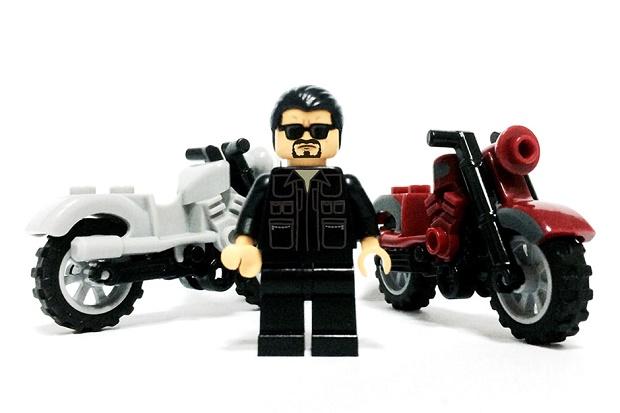 Иконы уличной моды воссозданы в LEGO