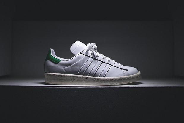 "Кеды adidas Originals by NIGO Campus 80s ""White/Green"""