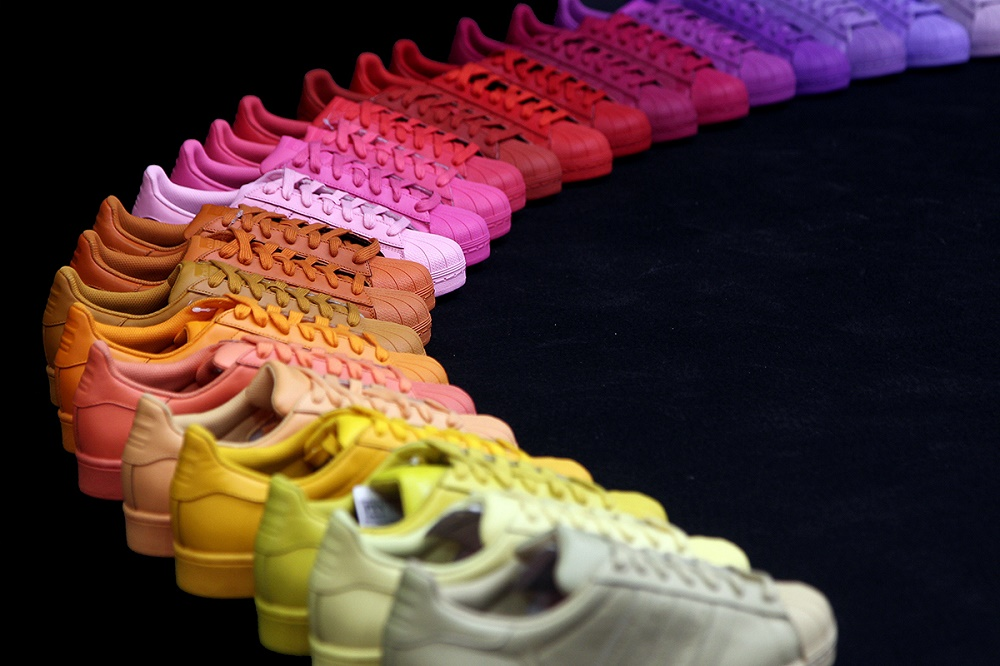 Коллекция кроссовок Pharrell Williams x adidas Originals Superstar