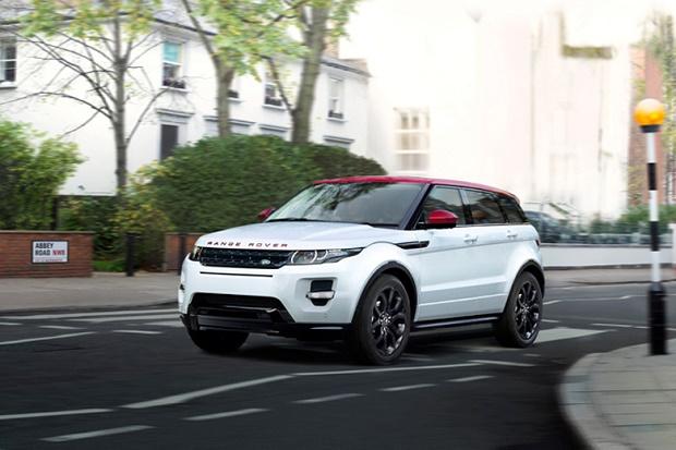 Land Rover представил специальное издание Range Rover Evoque NW8