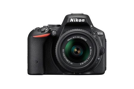 Самая компактная и лёгкая DSLR Nikon D5500 с поворотным сенсорным экраном
