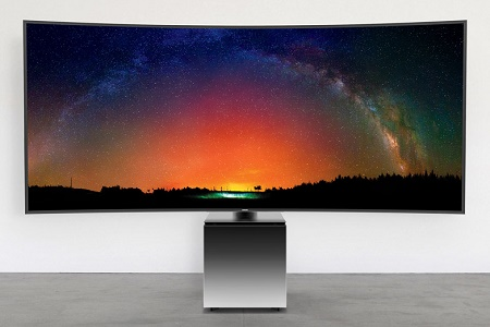 Samsung совместно с Ивом Бехаром представили 82-дюймовый телевизор SW9 Ultra-HD