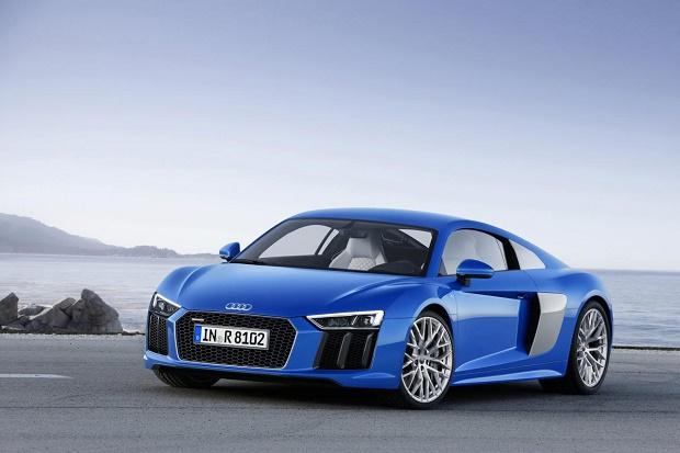 Audi представила новый спорткар R8
