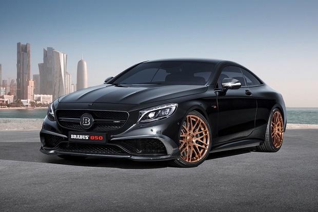 Brabus превратил Mercedes-Benz S 63 AMG в самое быстрое купе на планете