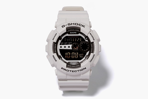 Часы BAPE x G-SHOCK GD-100