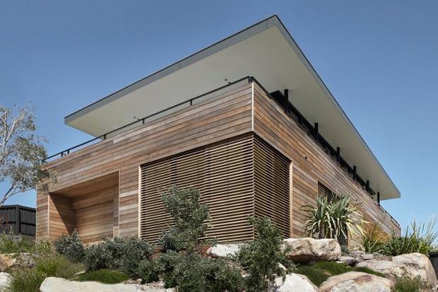 Дом для пляжного отдыха на побережье в Австралии