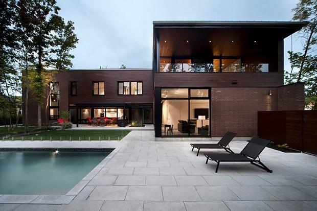 Дом Veranda от канадской студии Blouin Tardiff Architects