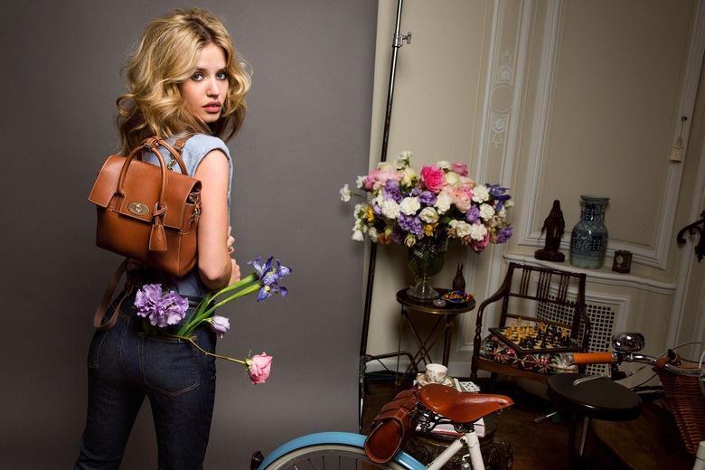 Джорджия Мэй Джаггер в рекламной кампании Mulberry Весна 2015