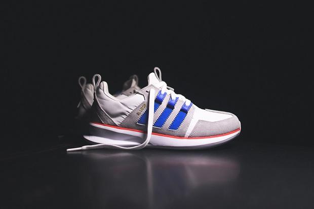 Кроссовки adidas Originals SL Loop Runner White/Bluebird/Red