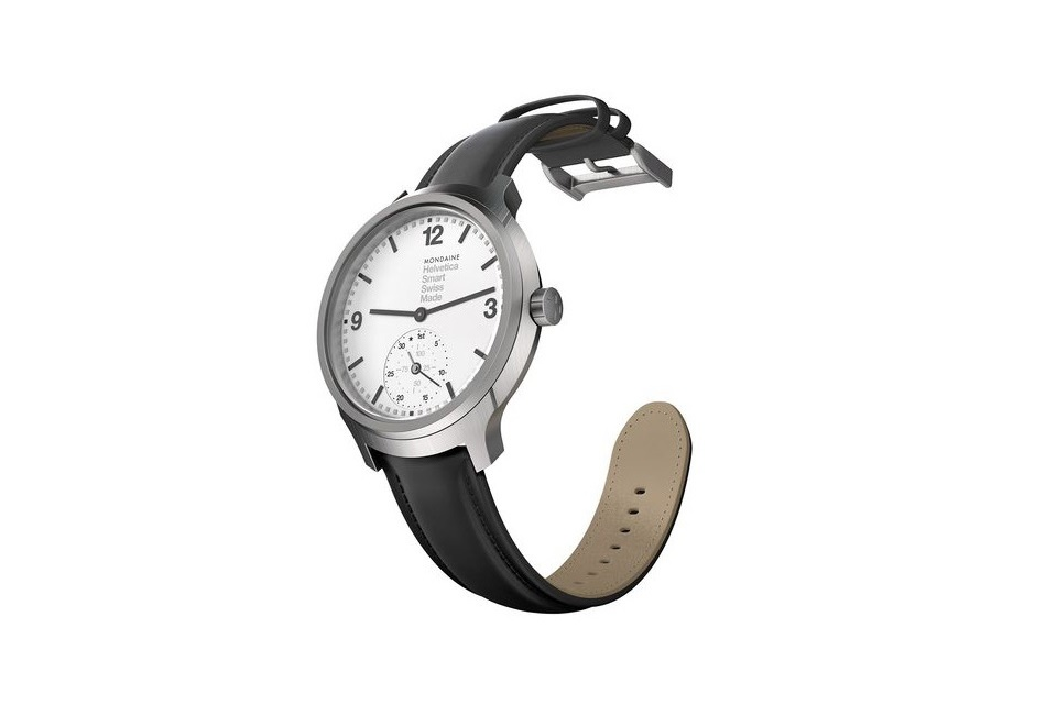 Mondaine выпустила умные часы Helvetica No 1 Horological
