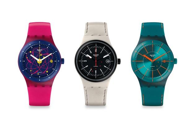 Swatch представил первые часы роботизированной сборки
