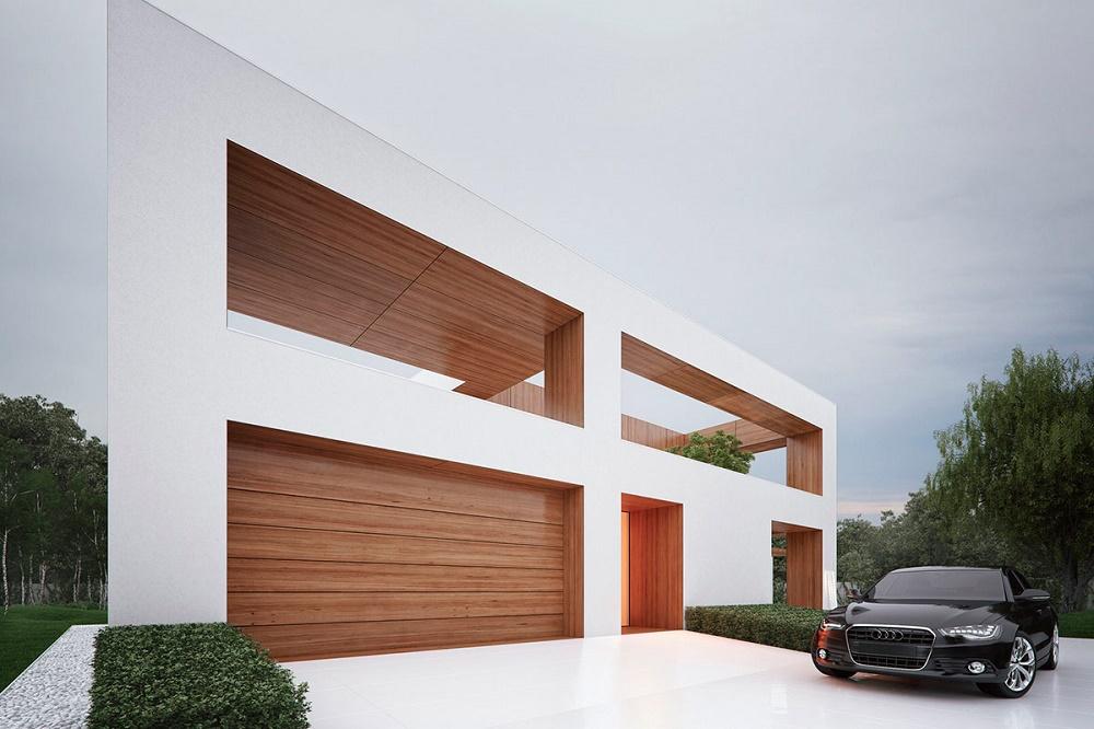 Проект загородного дома Holes от студии 81.WAW.PL