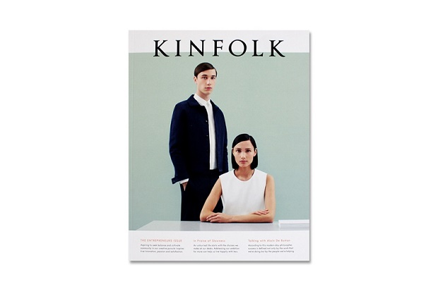 Пятнадцатый выпуск Kinfolk: предприниматели и истории их успеха