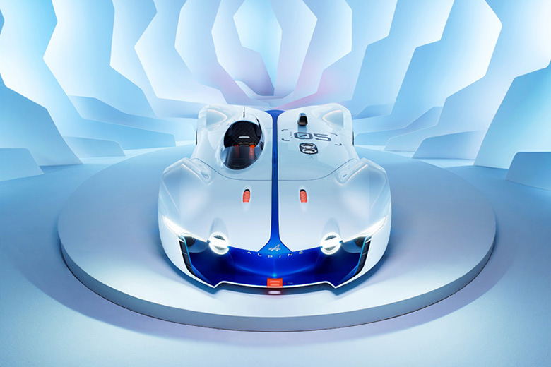 Renault показал концепт Alpine Vision Gran Turismo