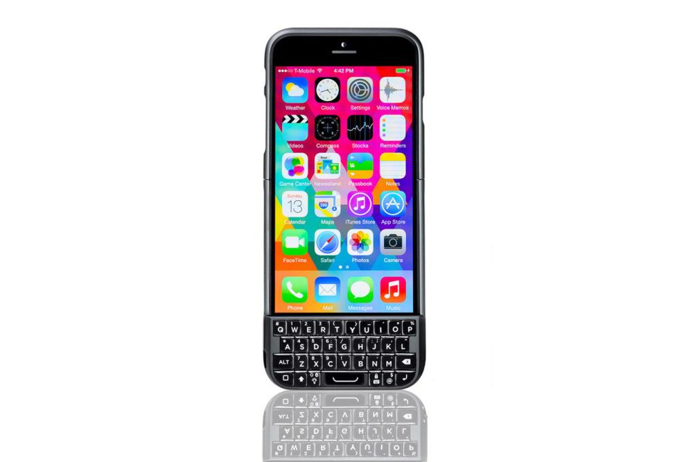 Вышел новый чехол для iPhone 6 с физической клавиатурой Typo2