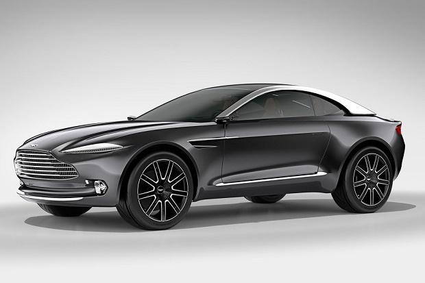 Aston Martin показал концепт электрокара DBX