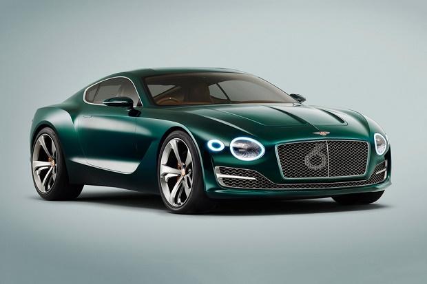 Bentley показал будущее в концепте EXP 10 Speed 6