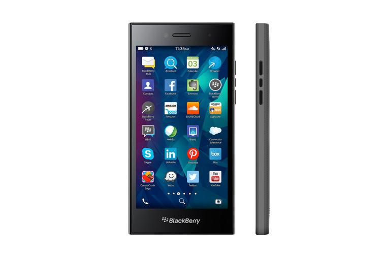 BlackBerry представила 5-дюймовый смартфон Leap