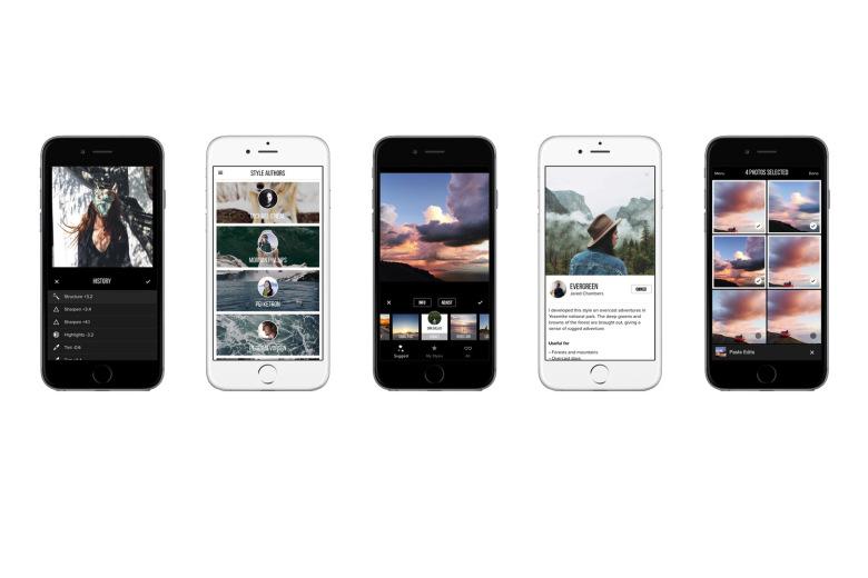 Фотоприложение Priime для iPhone