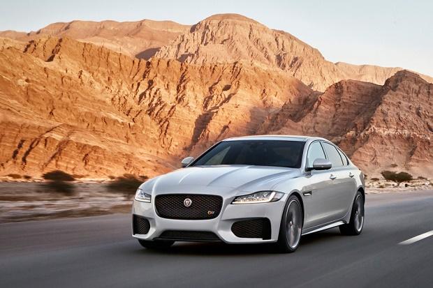 Jaguar рассекретил новое поколение седана XF