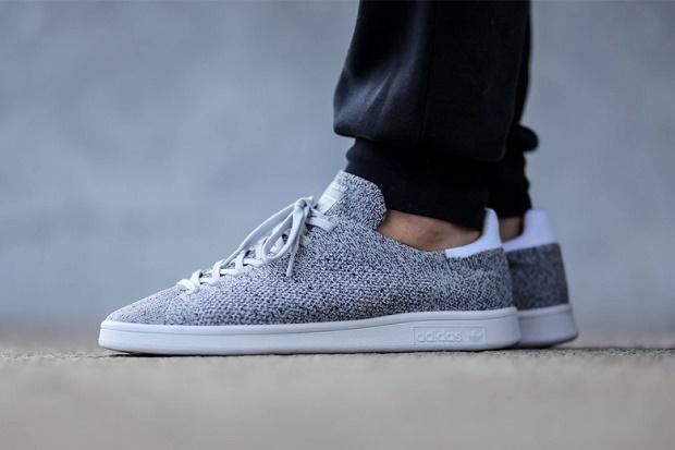 "Кеды adidas Originals Stan Smith Primeknit NM ""Light Solid Grey"" и ""Night Flash"""